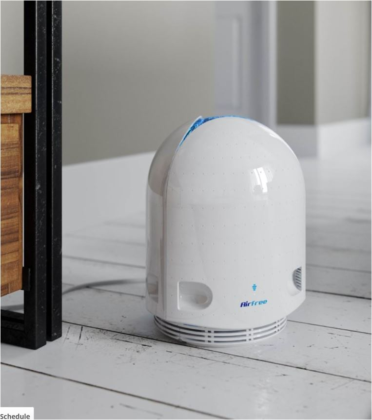AirFree purifier requires no maintenance