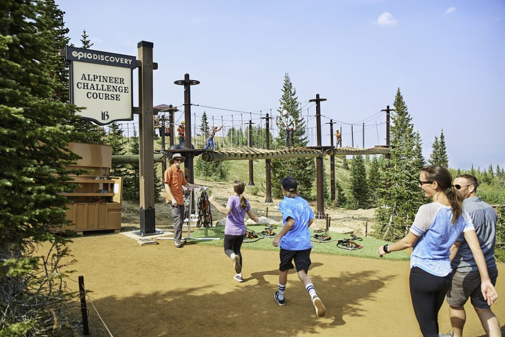 Alpineer Challenge Course, Epic Discovery