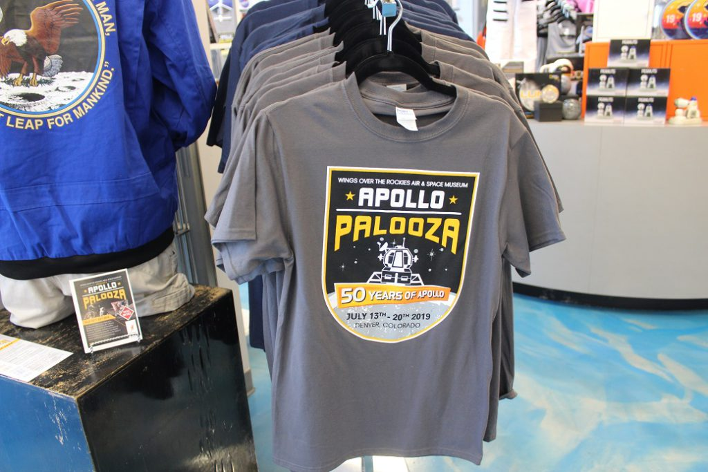 Apollo Palooza at Wings Over the Rockies commemorated the Apollo 11 mission 50 years ago