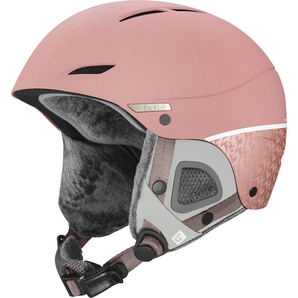 Bolle Juliet Vintage Rose Matte Helmet for Women