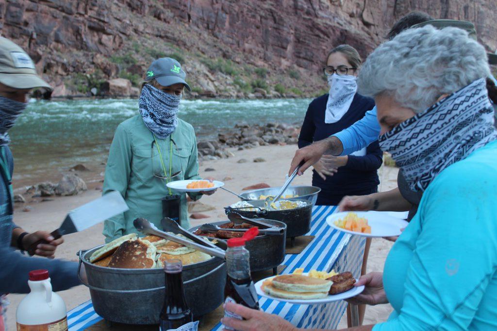 Breakfast on the Colorado River