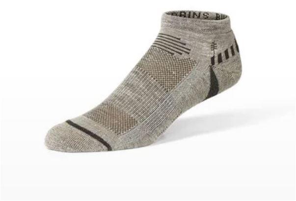 Bug Barrier hemp sock from Royal Robbins