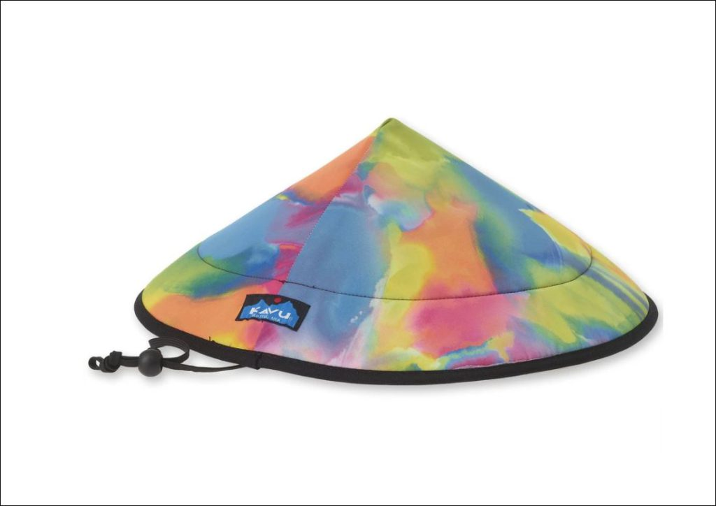 Chillba hat by Kavu - color is crazy paint