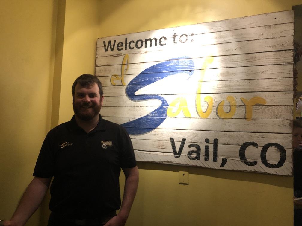 Colby Lefebvre of the very popular el Sabor restaurant