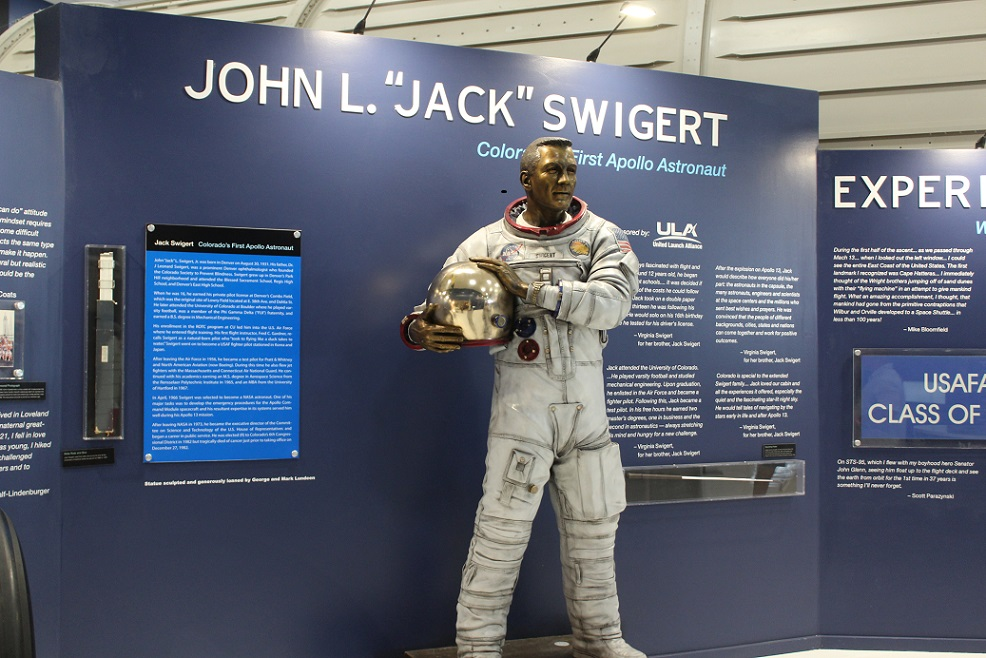 Colorado native Jack Swigert was on the troubled Apollo 13 mission