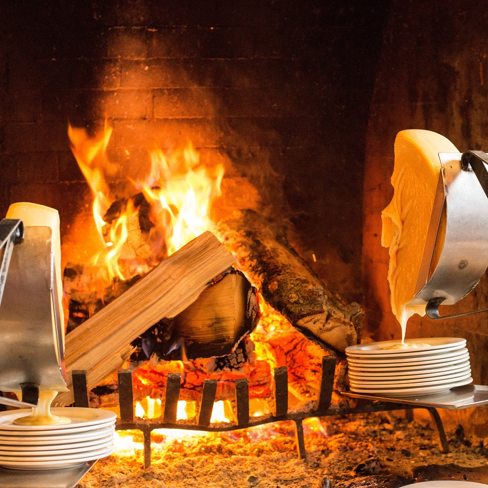 Deer Valley Resort offers courses of dripping raclette cheese and more