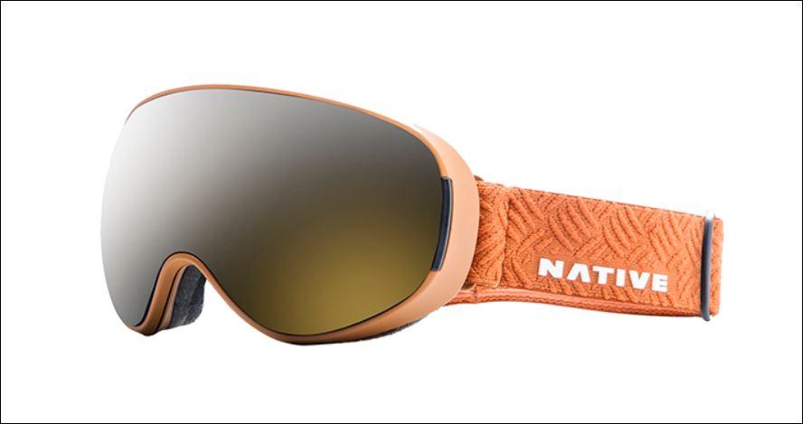 Dropzone Sierra ski goggles by Native eyewear