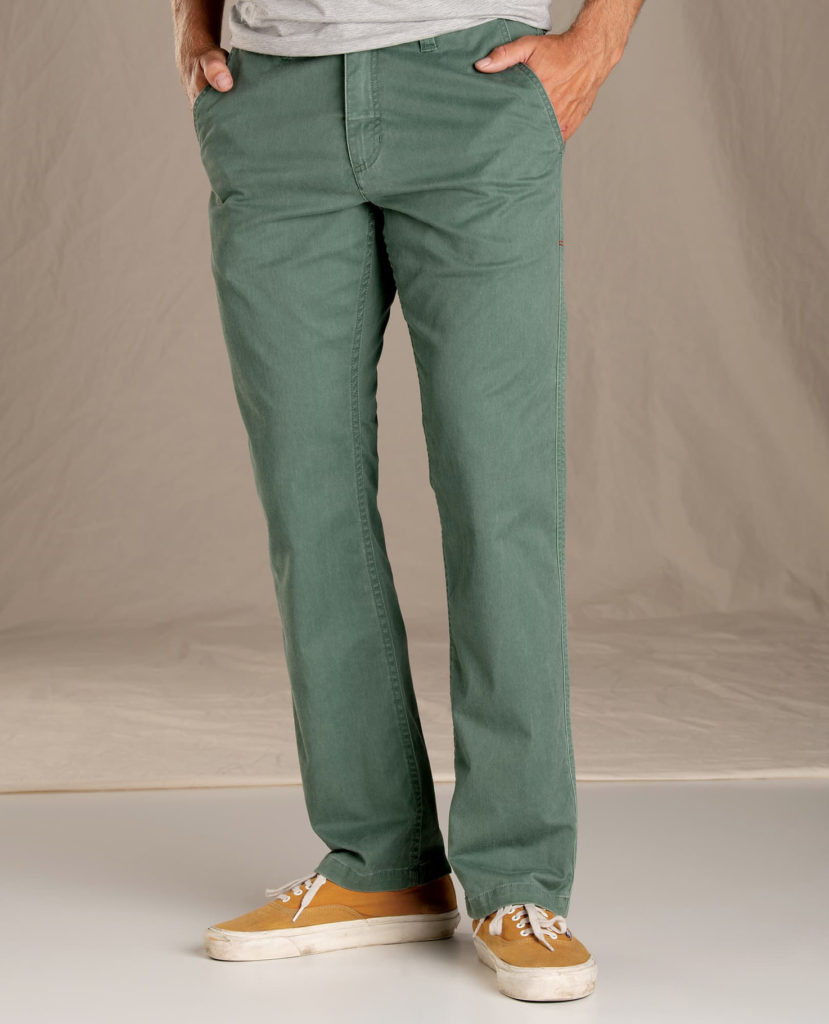 Duck green vintage wash - Mission Ridge Pant from Toad&CO