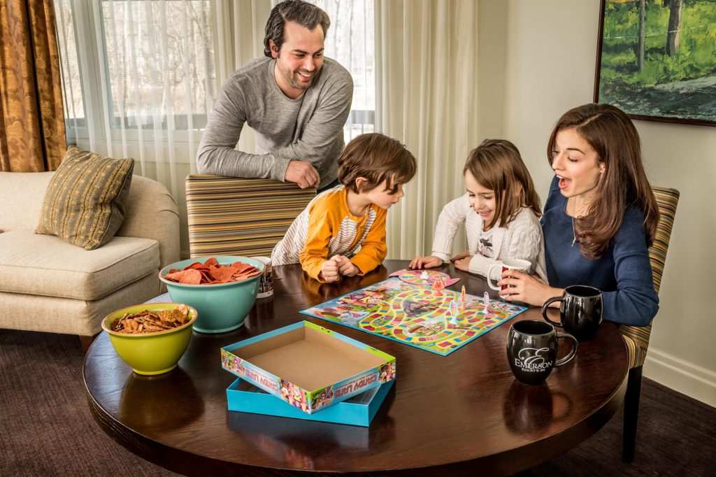 Family amusements at the Emerson Resort & Spa in New York's Catskills