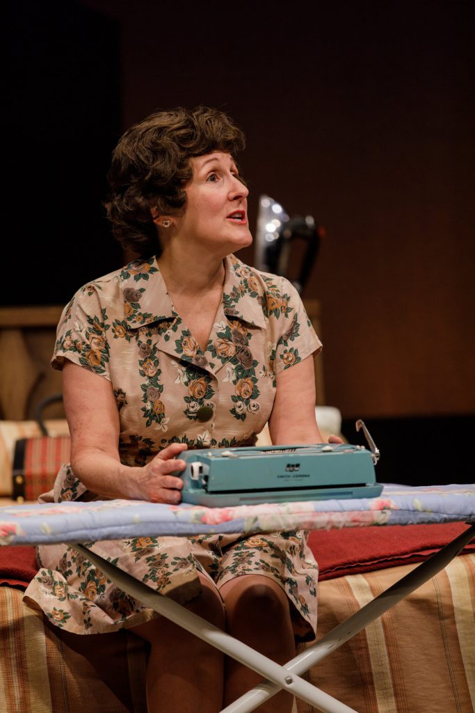 Pam Sherman as Erma Bombeck in Denver production of At Wit's End