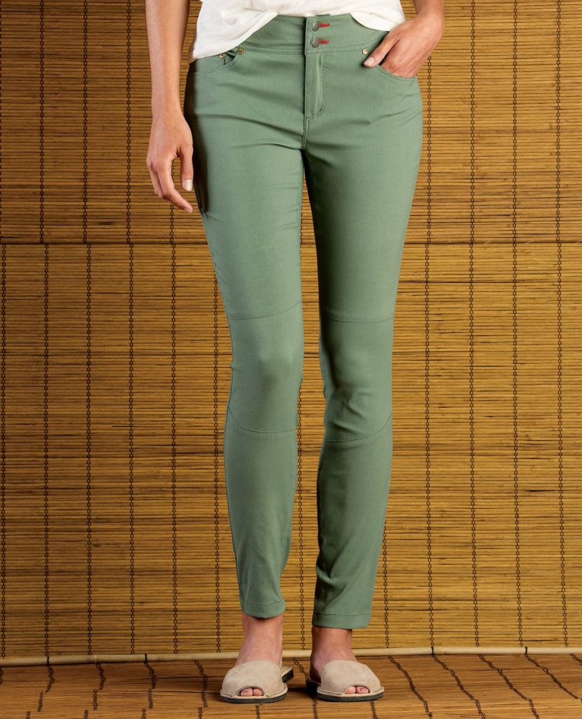 Flexible women's pants from Toad and Co