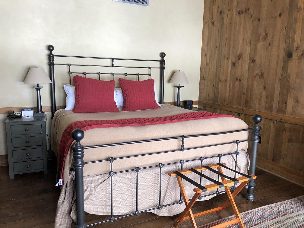 Guest room at Devil's Thumb Ranch
