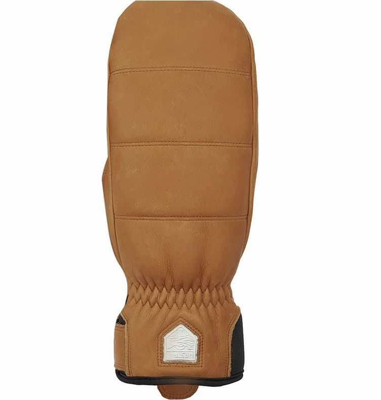 Traditional ski mitten maintains warmth throughout winter Cowhide leather shell fends off weather with long-lasting durability Primaloft Gold insulation delivers phenomenal, lofted warmth Brushed lining provides extra softness and more insulation Ribbed cuff backed with hook-and-loop strap for a secure fit