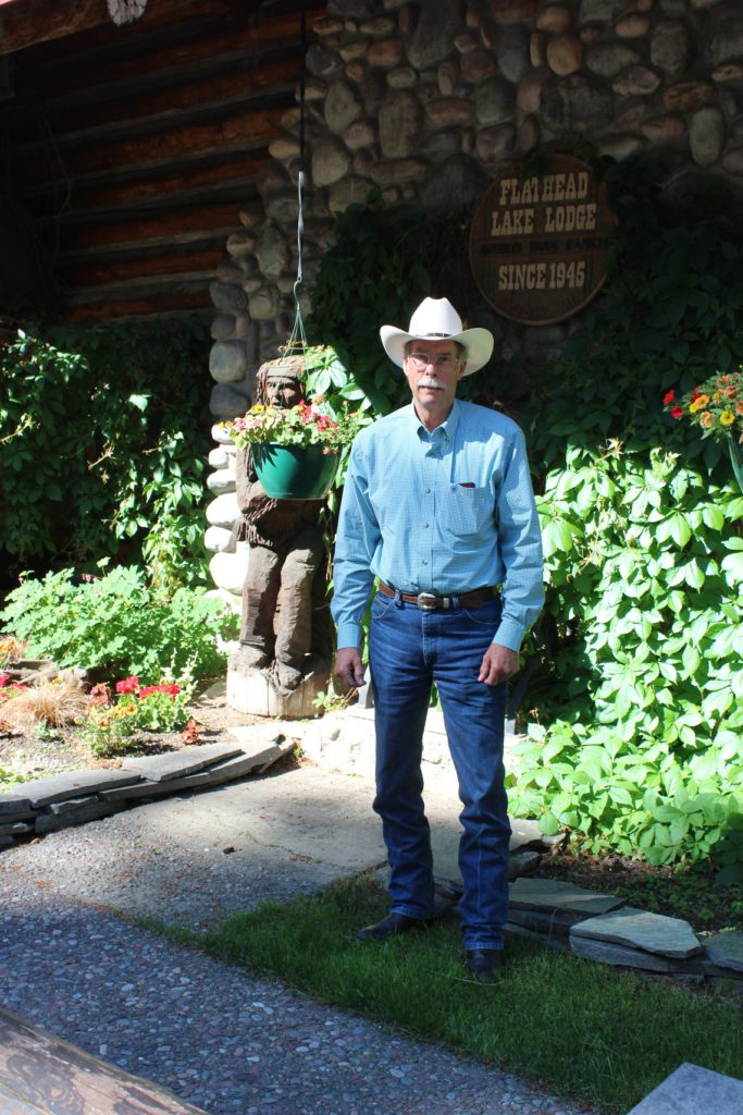 Doug Averill, son of the founder of Flathead Lake Lodge who ran fhe property for 44 years