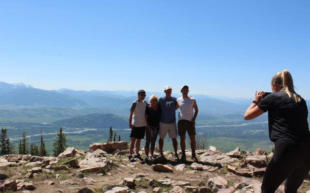 A picture perfect day in Jackson Hole WY on the last day of our epic #CovidSummer2020 road trip