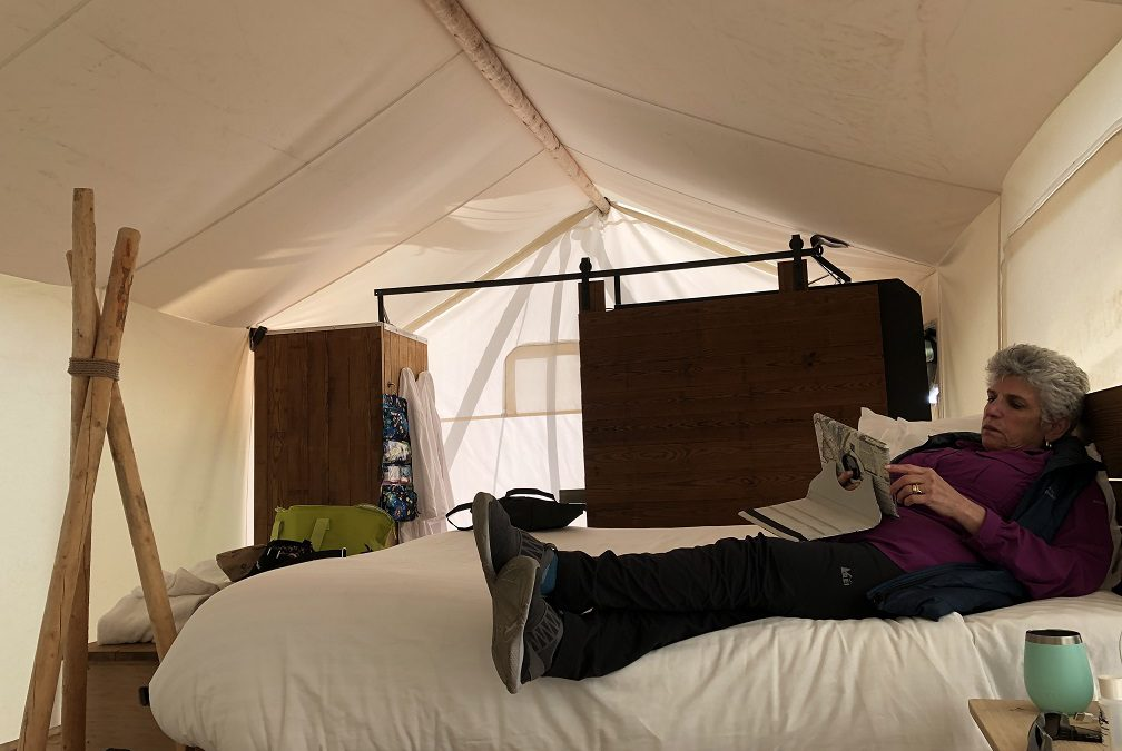 A different kind of camping – Under Canvas