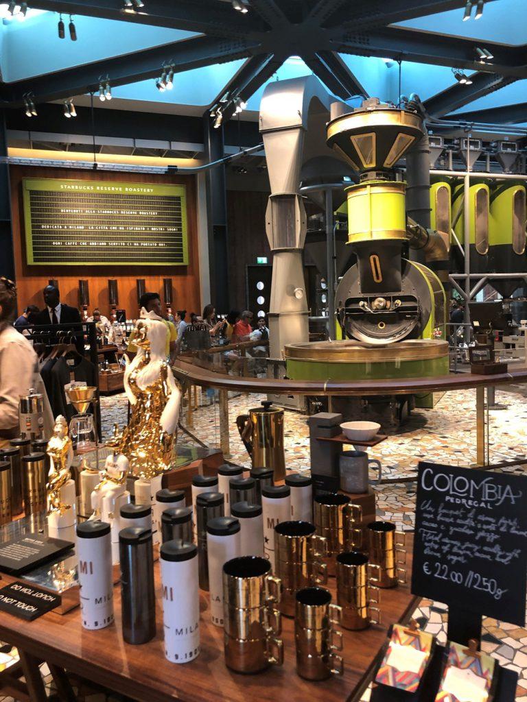 Inside the Starbucks Reserve in Milan