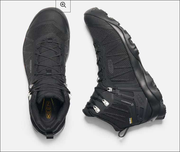Keeping your feet dry on a hike – thanks Keen!