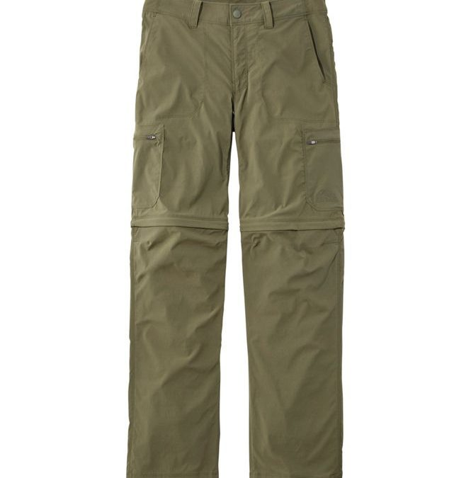 Hiking and zip off bottoms from L.L. Bean