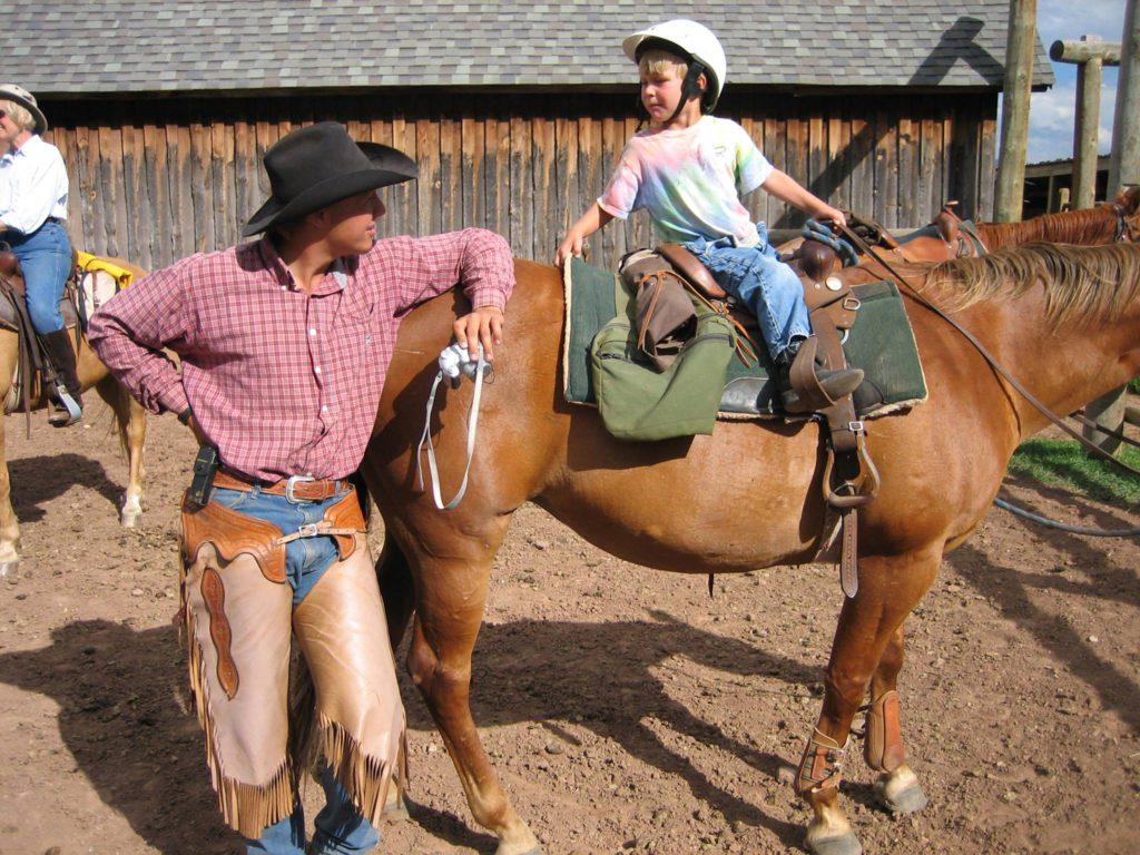 At the Laramie River Ranch