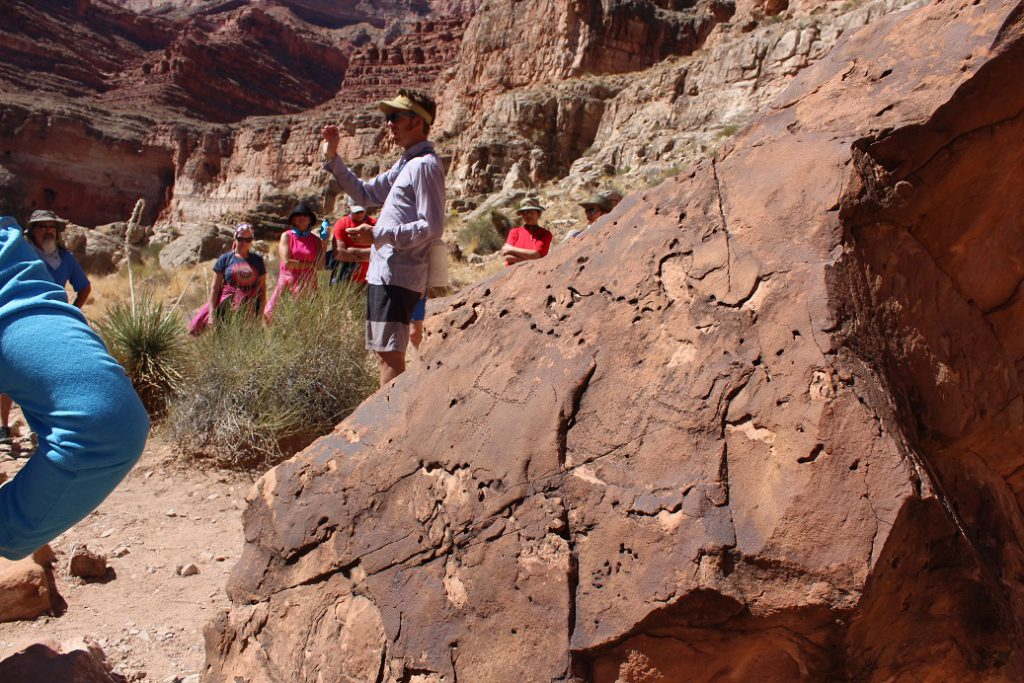 Learning about the ancients at an Anasazi granary