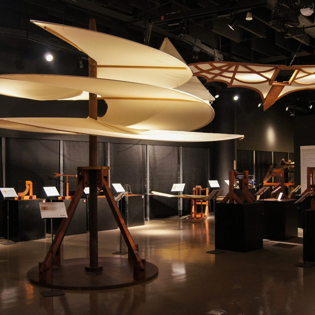 Leonardo was the first to examine the challenge of human flight from a scientific perspective