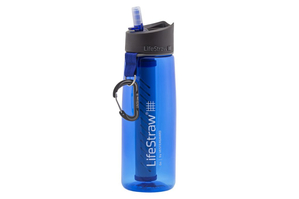 LifeStraw Go bottles come with a long-lasting (five years) microbiological filter that protects against bacteria, parasites, chlorine and more
