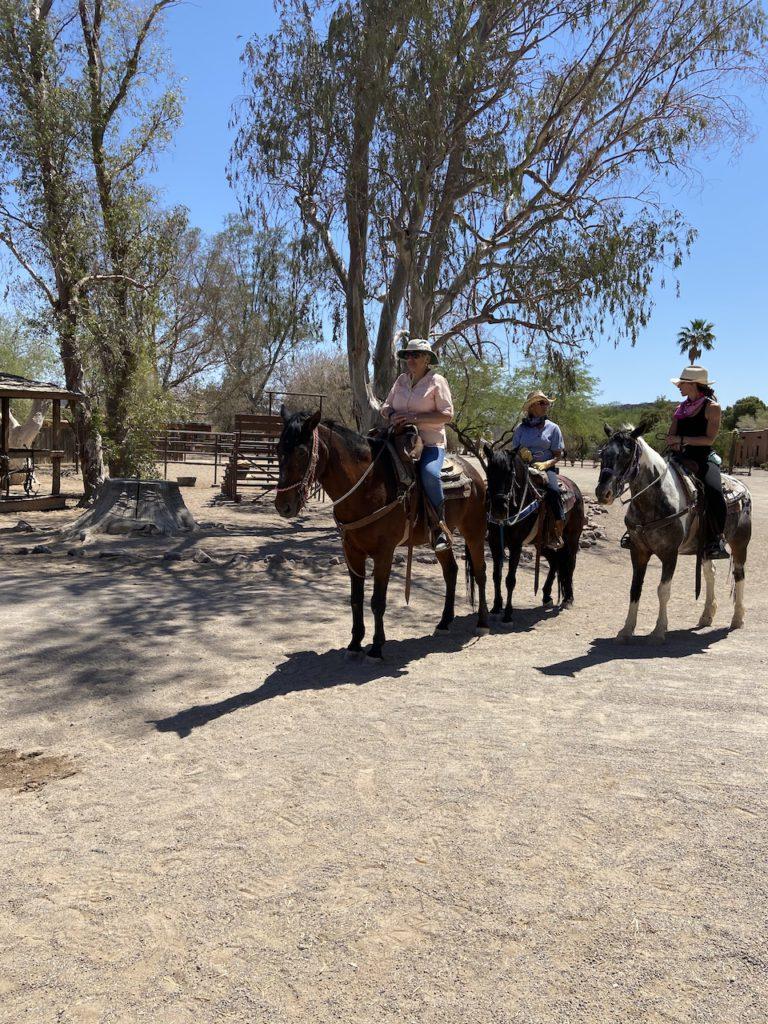 Morning ride at White Stallion Ranch