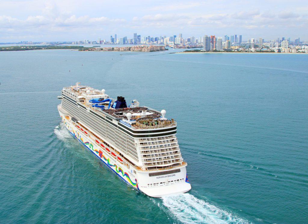 Norwegian Cruise Line's Encore in Miami