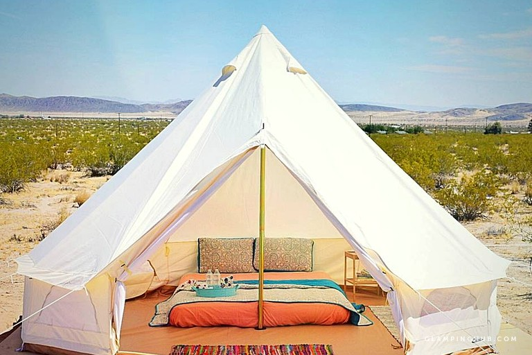 Off-The-Grid Glamping Getaway Experience near Joshua Tree National Park in California