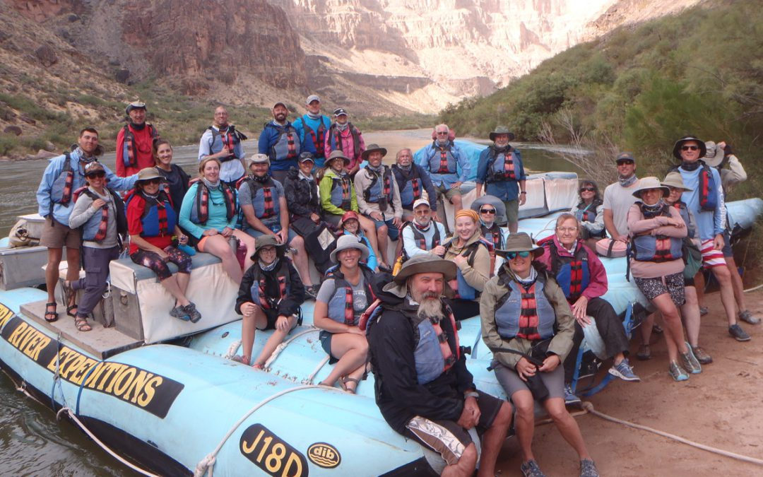 Weather can't spoil a trip to remember down the Grand Canyon
