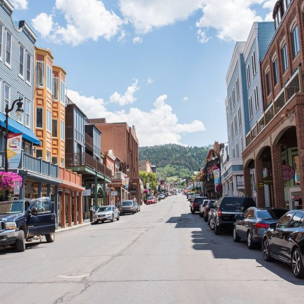 Park City, Utah has two ski lodges and is also home of the Sundance Film Festival