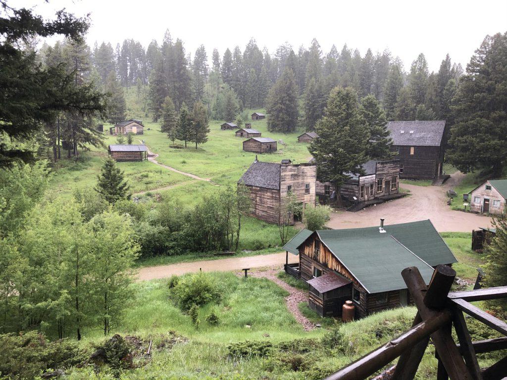 The ghost town of Garnet Montana