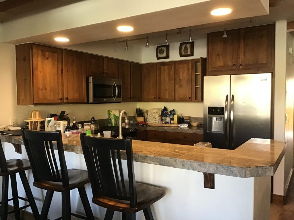Spacious. well equipped kitchen in our condo - The Antlers at Vail