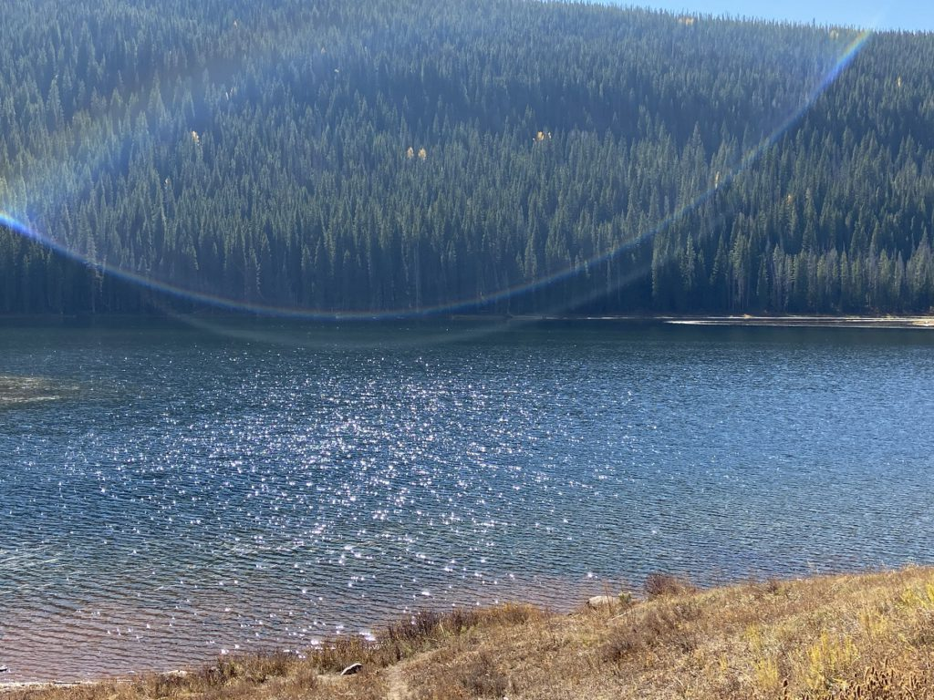Piney Lake, 12 miles north of Vail