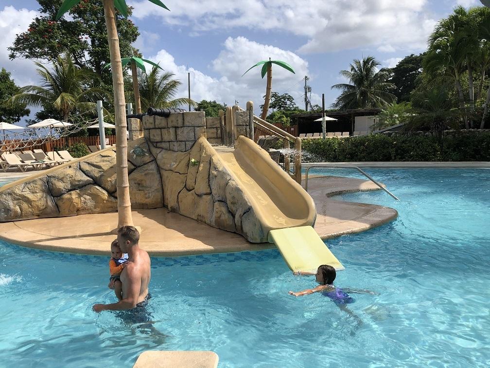 Poolside at Beaches Ocho Rios