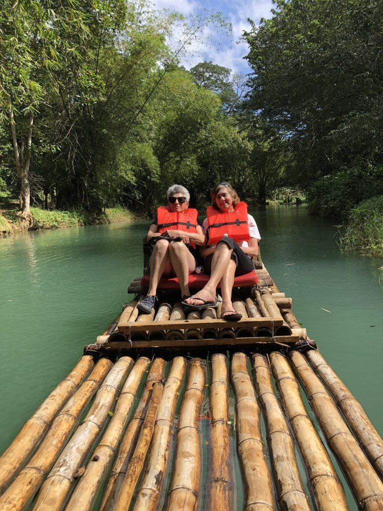 Rafting on the Rio Mateberion