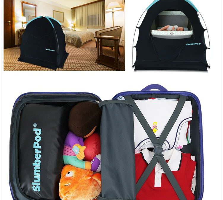 Keeping babies and toddlers snug and comfortable away from home – SlumberPod