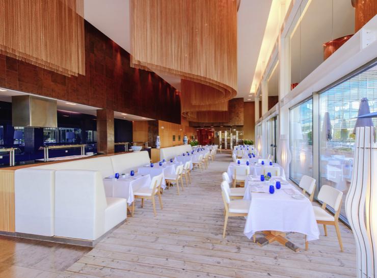 Dining area at Martinhal Cascais
