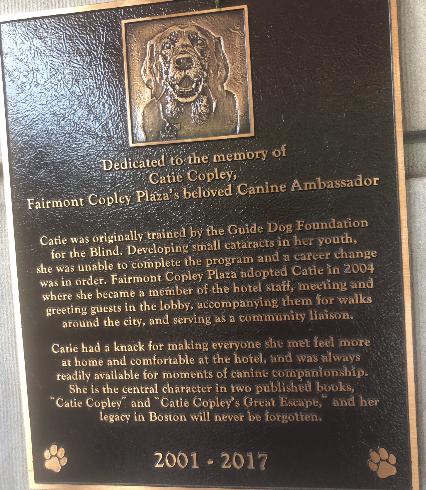 Memorial to Catie Copley