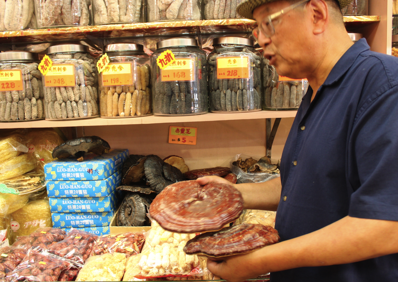 At one of the 11 herbal medicine stores in Vancouver's Chinatown
