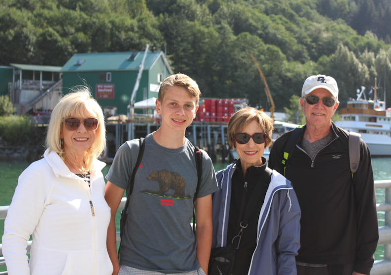 One of the many multigenerational families aboard the Regent Seven Seas Mariner