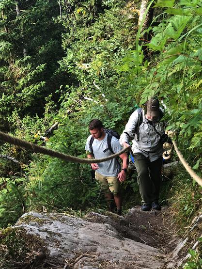 Hiking the Ridge Trail