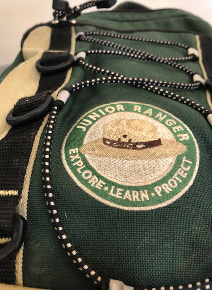 National Park loaner backpack for kids