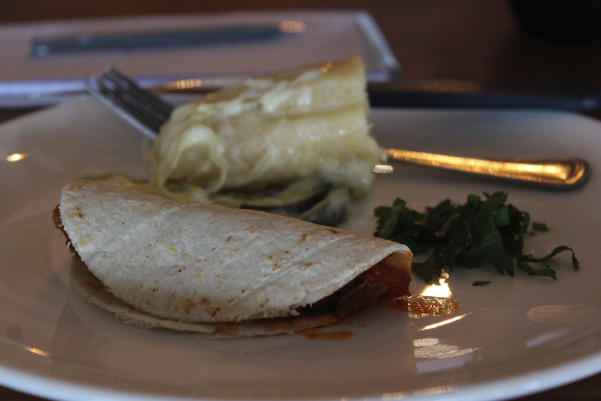 Sweet corn tamales in Matzalan
