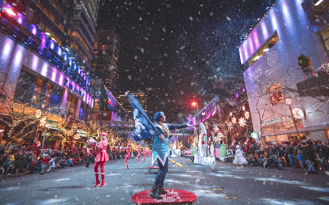 Free entertainment nightly for the Holidays: Snowflake Lane, Bellevue WA