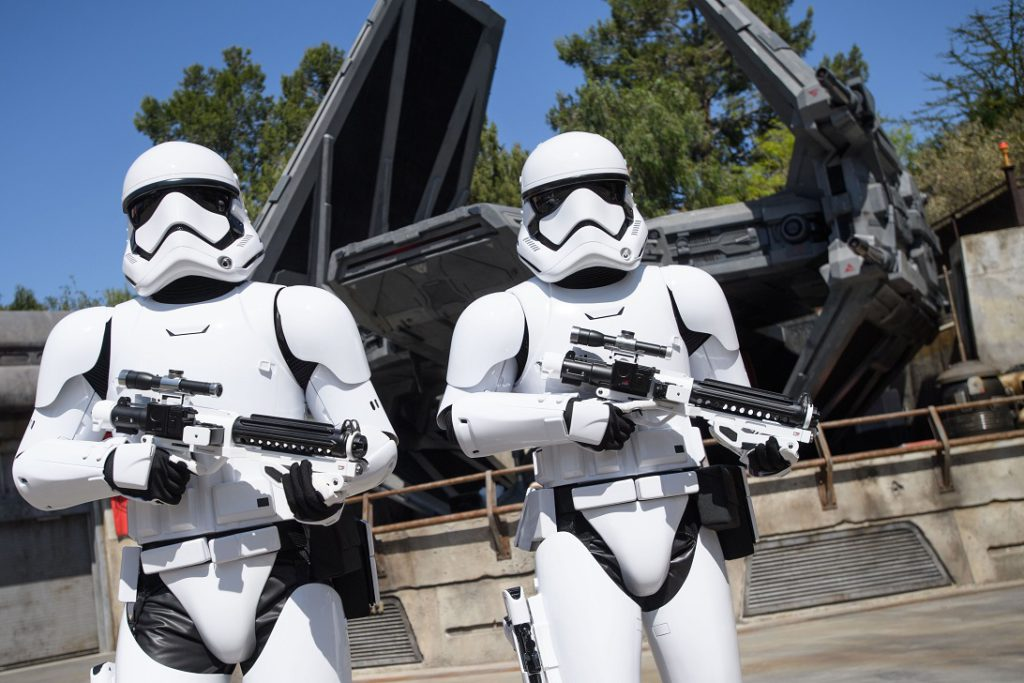 Imperial Stormtroopers keep the peace (or not) at Disney's Star Wars Galaxy's Edge