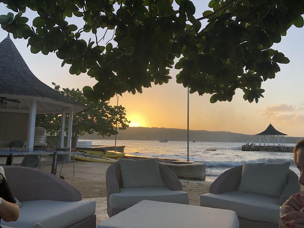 Sundown at the Sundown Villa