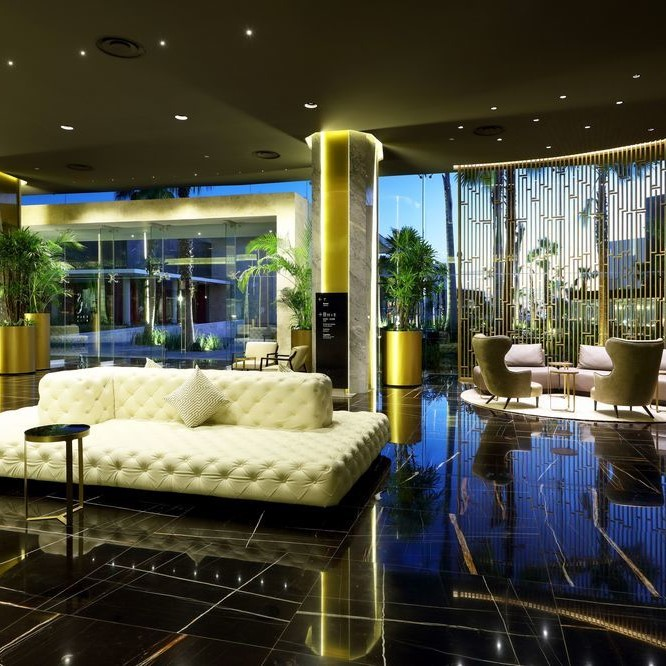 TRS Coral Hotel lobby