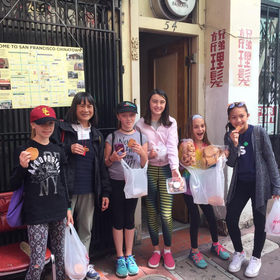 Take a walking food tour — like those of Chinatown offered by Wok Wiz where you can visit a fortune cookie factory and a Chinese farmers market